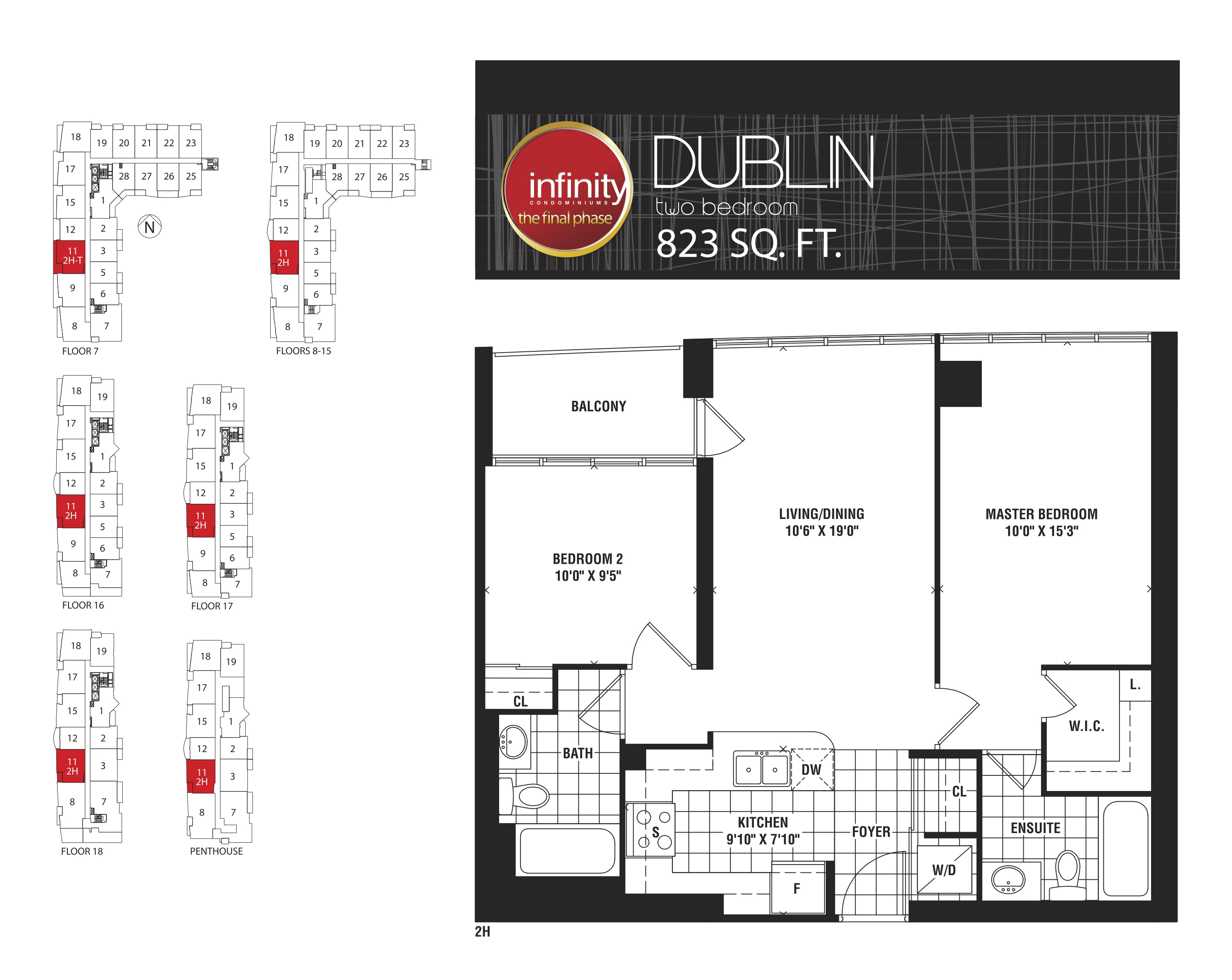 Floor Plans For Infinity Condos Infinity Condos At 19